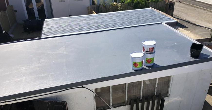Fibre glass roof repairs East London